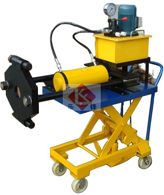液压工具-泰州乐锋——供应电动小车式液压升降拉马图片